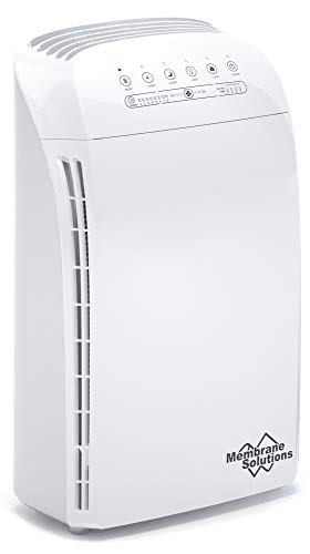 MSA3 Air Purifier for Home Large Room and Bedroom with True HEPA Filter, 100% Ozone Free Air Cleaner...