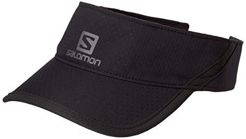 Salomon, Visière Unisexe, XA VISOR, Taille Unique Ajustable, Noir, LC1041800