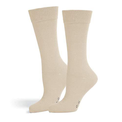 Safersox Classic Mückenschutz-Socke Socken - Beige, 39-42