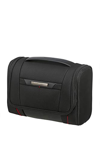 Samsonite Pro-DLX 5 Cosmetic Cases - toilettas L, 26,5 cm, zwart (zwart)