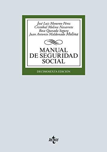 Manual de Seguridad Social (Derecho - Biblioteca Universitaria de Editorial Tecnos)