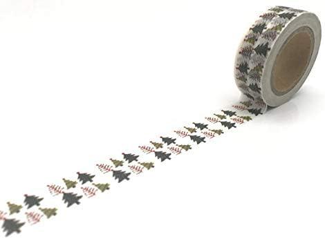 W Washi Tape Fashion Christmas japanese Lot 1pcs Scrapbook San Antonio Mall Masking