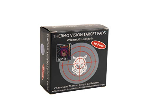 AMR Thermo Vision Target Pads - Wärmebild Zielpads , 10 Stück, Kalibrierung Wärmebildkamera Vorsatzgerät, Jagd Zubehör