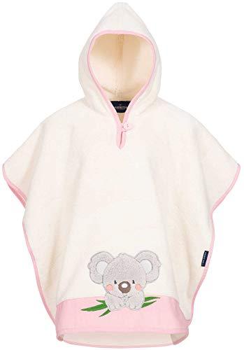 Morgenstern Kinder Badeponcho Koala rosa