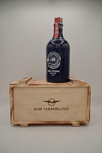 AIR HAMBURG SIMPLY PERSONAL Gin 2019 inkl. Holzbox | Geschenkbox | 42{0ffc43febc9128d191f5b66602abb8601b561805c7ff721a50b0862f5cbcf92d} 500 ML