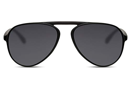 Cheapass Gafas de Sol Piloto Puente Flexible de Plástico Estilo Único UV400