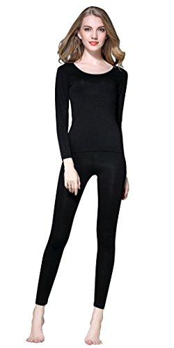 Vinconie Ropa Interior Termica Mujer Camiseta Termica Pantalones Termicos