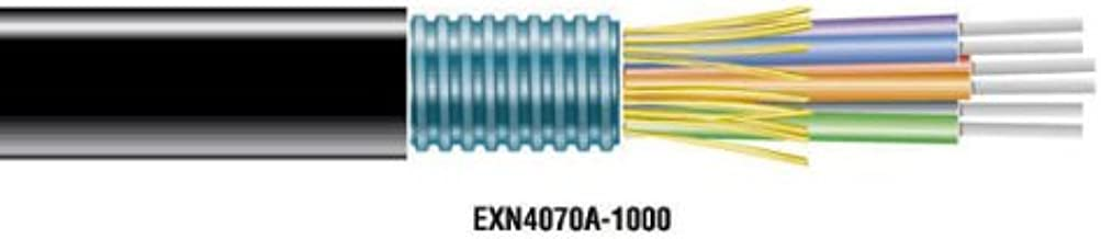 Armored Outside-Plant Bulk Fiber Optic Cables, 1000-ft. (304.8-m), 6-Strand