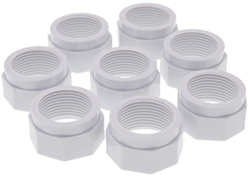 Lodd Pool – 8 tuercas para manguera flexible de alimentación adaptables para...