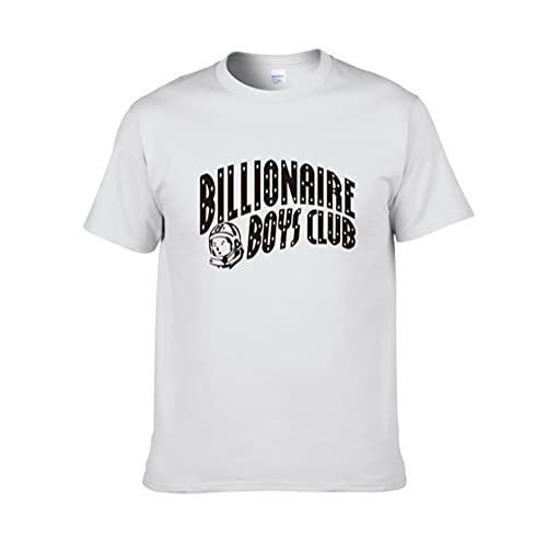 YaNanHome Billionaire Boy Series Manga Corta Pareja Manga Corta, Camisetas para Hombre, Nuevo Cuello Redondo Suelto, Transpirable Y Seco, Absorbente De Sudor, Talla Grande/A/S