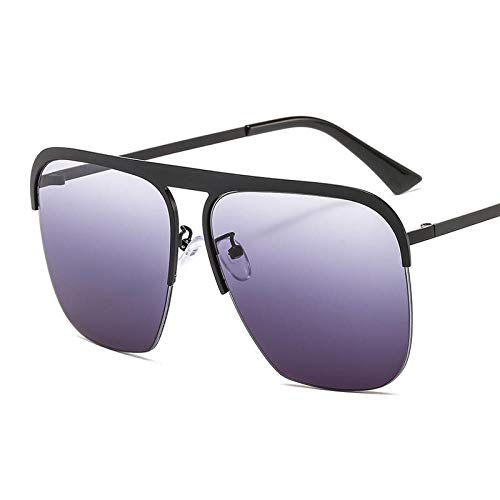 DLSM Fashion Square Sonnenbrillen Frauen 2020 Vintage Oversize Sonnenbrillen Männer Brillen Retro Metal Gradient Shades UV400-4