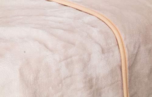 Manterol Decke Beige Bett 180 cm Mint-Color...