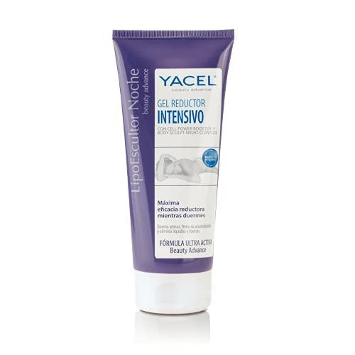 YACEL LIPOESCULTOR NOCHE | Gel Reductor Intensivo | Máxima Eficacia Reductora Mientras Duermes | 200 ml.