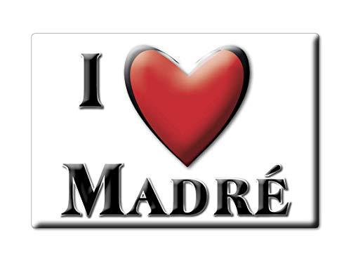 Enjoymagnets MADRÉ (53) Souvenir IMANES DE Nevera Francia Poitou Charentes IMAN Fridge Magnet Corazon I Love