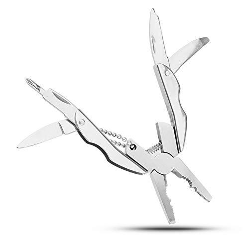 LJTJXhandgereedschap, tang, schroevendraaier, sleutelhanger, outdoor, draagbaar, mini-handmatig gereedschap, multigereedschap