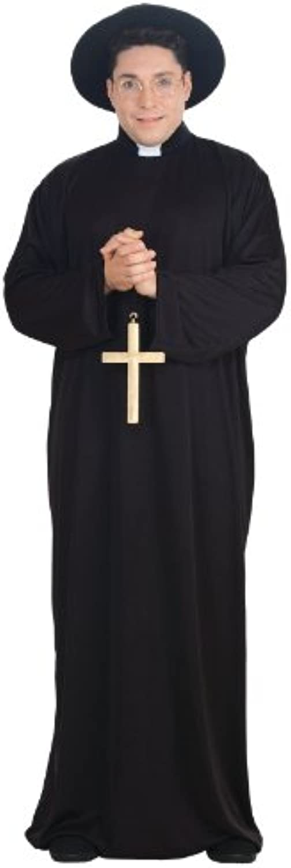 Plus Size Priest Costume or Padre Costume