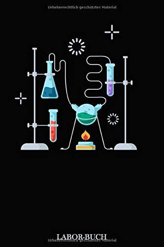 Laborbuch: Für\'s Labor & Studium | Mit viel Platz für Notizen, Skizzen & Ergebnisse | 105 karierte Seiten | ca. Format A5 |