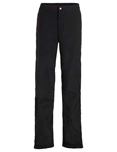 VAUDE Herren Yaras Rain Pants III Regenhose zum Radfahren, black, 58, 415240105700