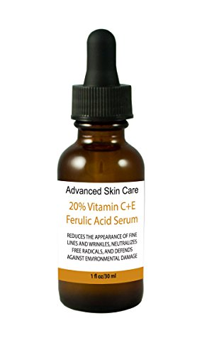 The Best Vitamin C Serum for Your Face-20% Vitamin C, 1% Vitamin E and 1% Ferulic Acid in Hyaluronic Acid Serum, Brighten Skin,reduce Fine Lines and Wrinkles 1 Oz) Guaranteed results or!