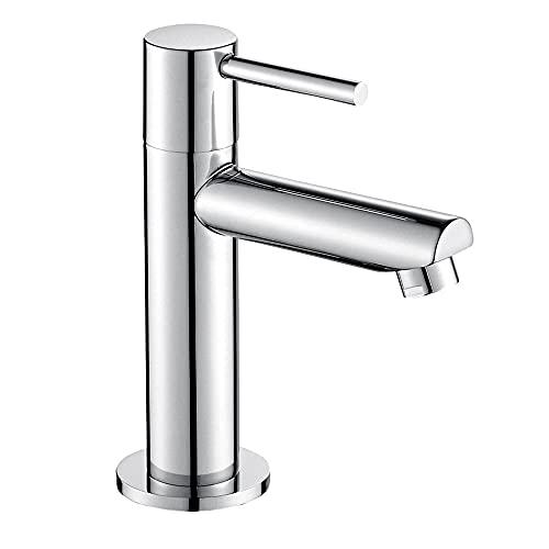 JOHO Kaltwasserhahn Kaltwasserarmatur Waschtischarmatur Waschbeckenarmatur Badarmatur für Kaltwasser Gäste WC