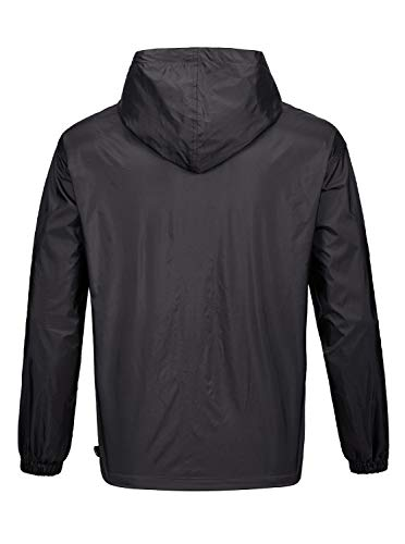 SWISSWELL-Mens-Rain-Jacket-Waterproof-Windbreaker-with-Hood-Lightweight-Running-Golf-Raincoat