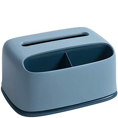 XinLuMing Caja de Pender de Tejido Rectangular de Caja de cosméticos con Esquinas Redondeadas Caja de dispensador de Tela de plástico de plástico, Puede Guardar Tejido y Colocar una Caja de Toallas