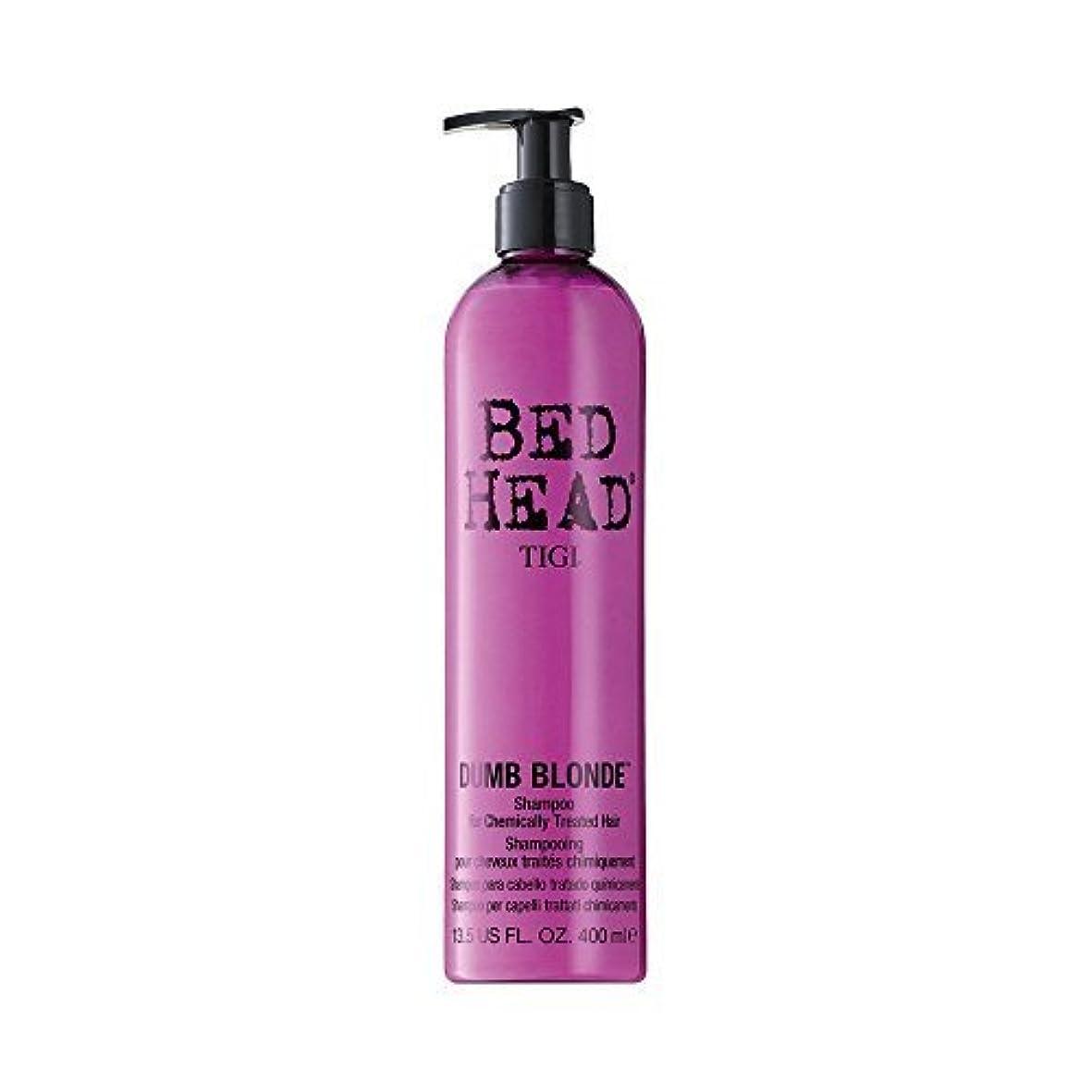クラッシュアシュリータファーマンいろいろTigi Bed Head Dumb Blonde Shampoo (For Chemically Treated Hair) 400ml/13.5oz by Tigi [並行輸入品]