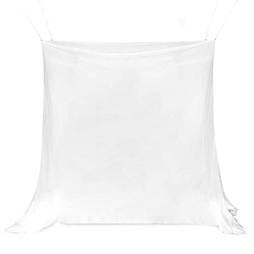 Obobb Portable Oversized Mosquito Net with Bag Large Opening Mesh Camping Bedding Garden Insect Proof Net