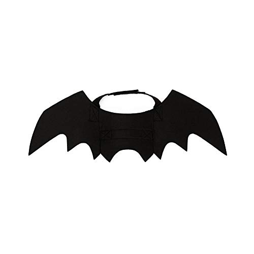 NaiCasy Creativo Animale Domestico Bat Peluche Cane Costume Pipistrello Halloween Disegno Batman Ali Cani Gatto Cucciolo Gattini Piccoli Animali Domestici
