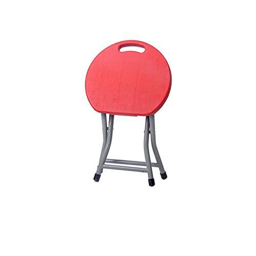 PLL klapstoel home kruk creatieve klapstoel draagbare outdoor vrije tijd stoel dik kunststof eettafel bank