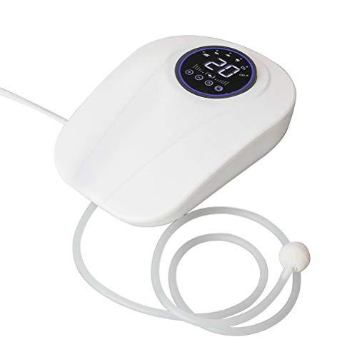 Auplew Generador de ozono portátil, limpiador de ozono multiusos, con temporizador para la limpieza de aire, agua, verduras y frutas