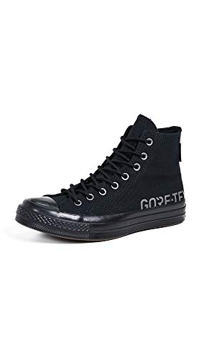 Converse Men's Chuck 70 Goretex Waterproof High Top Sneakers, Black, 10.5 M US
