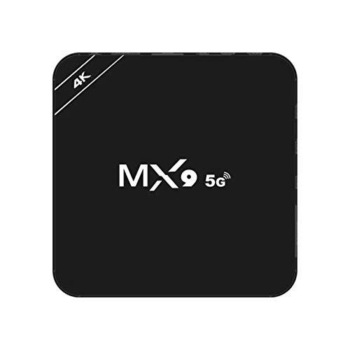 Frotox Andr Oid TV Box, 【2 GB + 16 GB】 H6 Quad-Core 64 bits Arm Cortex-A53 , Smart TV Box con Control Remoto