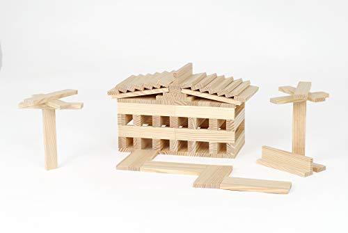KAPLA-Holzbaukasten 200 Steine - 9