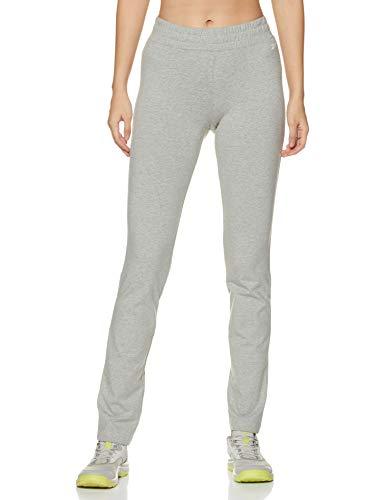 Reebok Women's Track Pants (GC7570_Medium Grey Heather_Small)