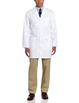 Dickies 37 Inch Unisex iPad Lab Coat White Medium