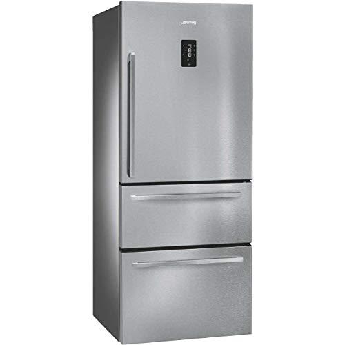 Smeg - SMEG - Réfrigérateur Américain FT41BXE (FT 41 BXE) Inox Anti-trace