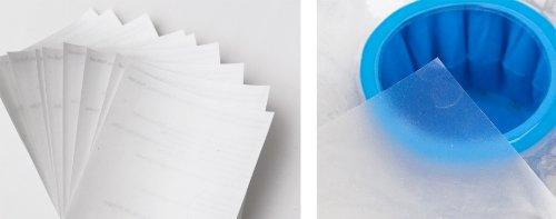 3-W-Hohenlimburg, 0016, 10er Reparatur Pool Flicken, 10 Stück - Flicken von Löchern in Pools, Teich Folien, Poolflicken, Klebeflicken, Flicken Folie 7x7 cm, Reparaturfolie zum Reparieren von Rissen und Schäden an der Poolfolie oder Teichfolie