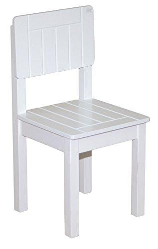 Roba kindermeubel voor zitgroep in wit, landhuisstijl, tafel, kistbank en stoel beschikbaar Kinderstoel Kinderstuhl