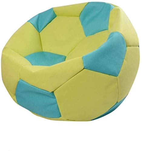 Canapé lit LHY- Lazy Sofa Football Bean Bag Cute Girl Simple Chambre Salon Loisirs Créatifs Petit Salon Chaise Brochage Hit Couleur Doux (Color : Yellow)