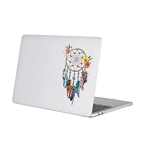 Pegatina para portátil con diseño de plumas indias para iPad Pro Retina 11 12 13 14 15 pulgadas MiSkin para 11 pulgadas