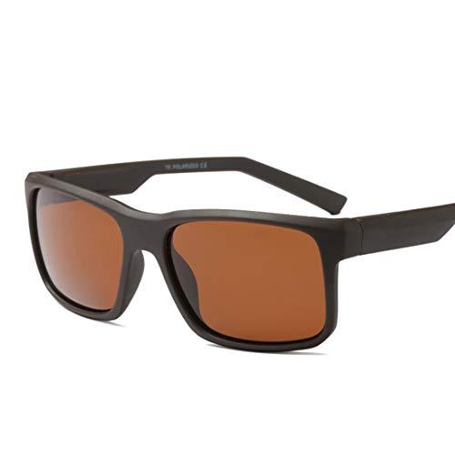 XIAOTANBAIHUO Anteojos Gafas de Sol polarizadas de los Hombres de la Vendimia Protección UV400 de fotograma Completo Duradero Conducción Ciclismo Correr Pesca Gafas de Sol de Golf Protección UV Gafas