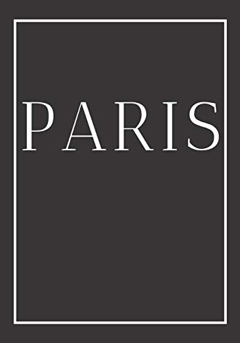 Paris: A decorative book for coffee tables, end tables, bookshelves and interior design styling | Stack city books to add decor to any room. ... for interior design savvy people: 9 (CITIES)