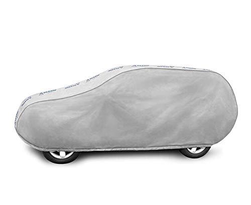 Mehrsaisonale Abdeckplane für das Auto geeignet für BMW X1 F48 Vollgarage Autoadbeckung Ganzgarage - L SUV
