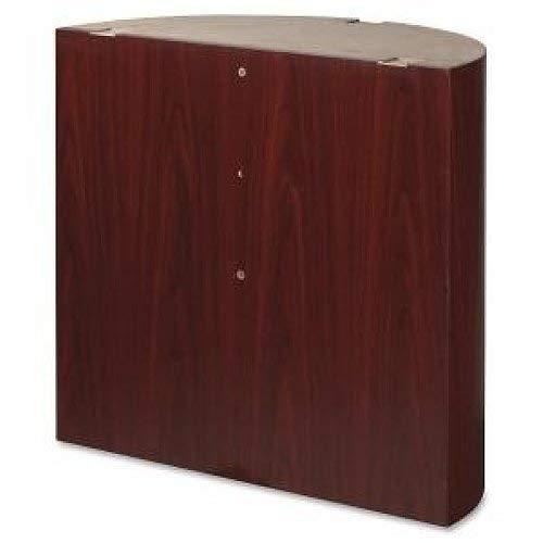 Lorell llr69942Modular Konferenz Tisch Top, 77,5cm Höhe x 77,5cm Breite x 81,3cm Länge, Mahagoni