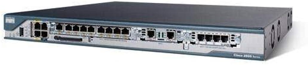 Cisco 2801 - Router (10 Mbit/s, Ethernet, Fast Ethernet, SNMP 3, IPSec, gsm, GPRS, UMTS, Edge, HSDPA, Des, 3DES, AES-128, AES-192, AES-256) (Reacondicionado)