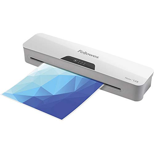 Fellowes Halo 125 Laminator with Pouch Starter Kit, 4.3