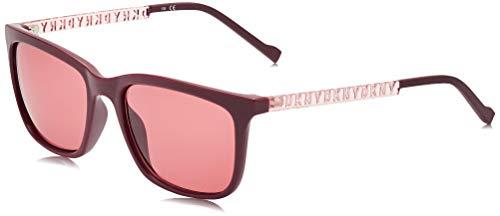 DKNY DK510S Gafas de sol, Oxblood, 55 MM, 18 MM, 135 MM para Mujer