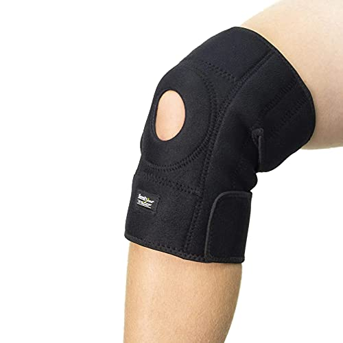"""Serenity2000 Magnetic Therapy Knee Brace for Support and Pain Relief - Large, Fits Knees 18"""" - 26"""", Contains 28 Magnets"""