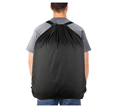 Laundry Bag Backpack, Laundry Hamper with 2 Strong Adjustable Shoulder Straps